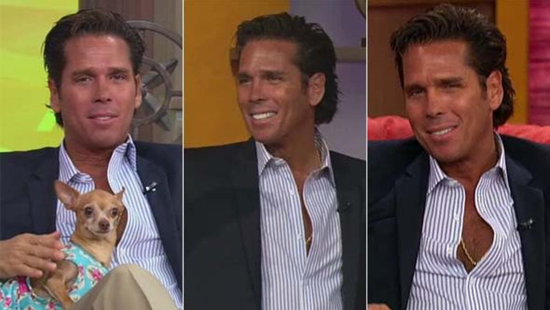 El actor estuvo de visita en Despierta América.
