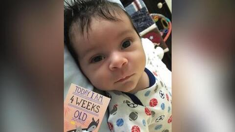 Qué grande: El hijo de Lourdes Stephen ya cumplió su primer mes