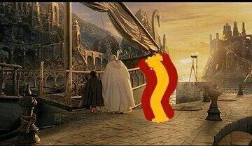 Frodo, Gandalf y la selección española listos para irse. Todo sobre el M...