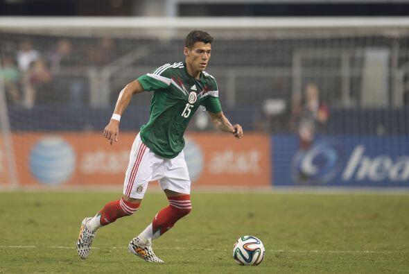 Héctor Moreno (7): El central mexicano es quien comandó la...