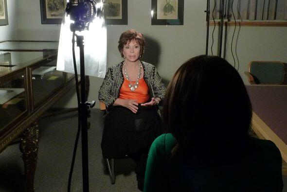 Isabel Allende conversó con Angélica Atondo