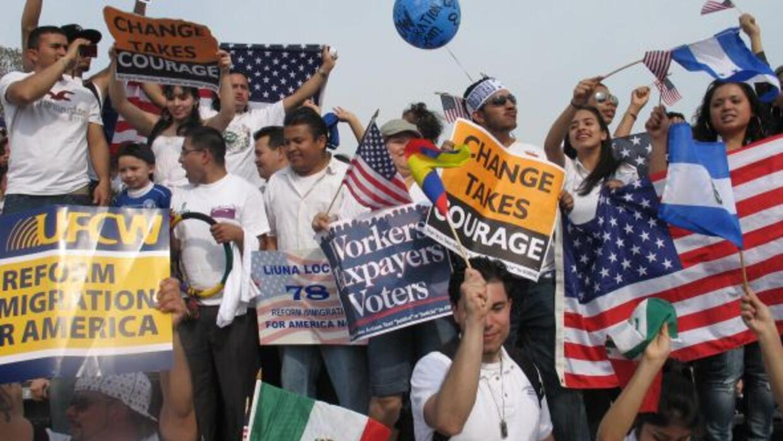 Marcha por la reforma migratoria.