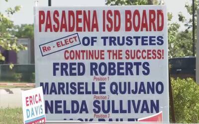 El día de elecciones en Pasadena no se ha librado de la polémica