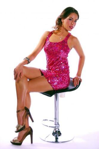 Andrea es una mexicana orgullosa de representar a Dallas en donde quiera...