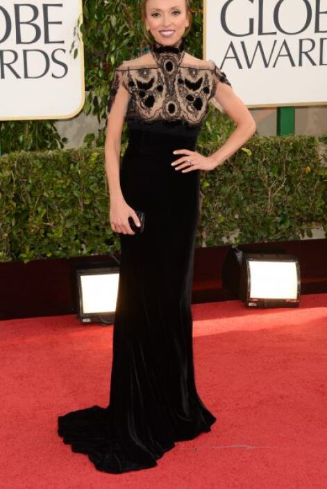 Para la simpatía que caracteriza a Giuliana Rancic, el 'look' gótico no...
