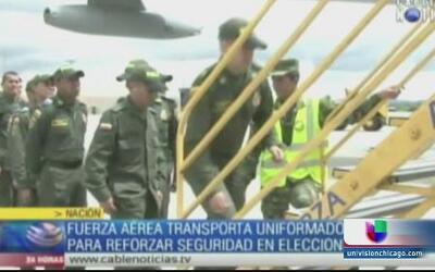 Refuerzan la seguridad para las elecciones de Colombia