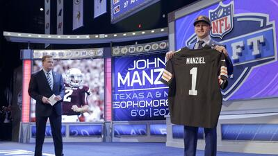 Los Browns eligieron al QB Johnny Manziel 22do global