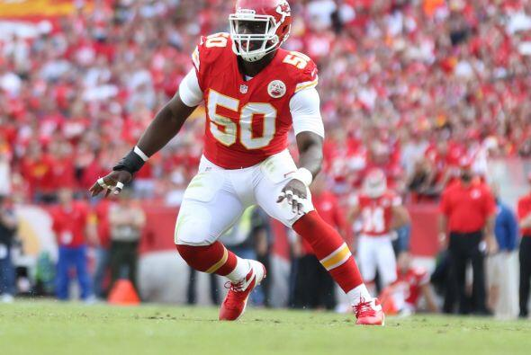 Apoyador externo: Justin Houston, Kansas City Chiefs.