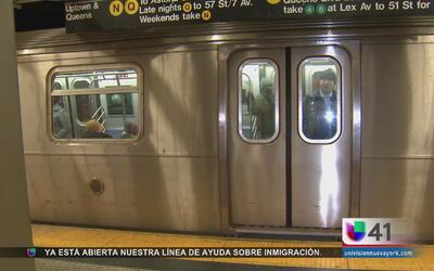 Mujer atacada con aguja al quedarse dormida en el subway