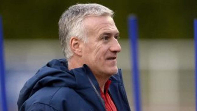 Deschamps, técnico de 'Les Bleus' y ex compañero de Zidane en Juventus y...