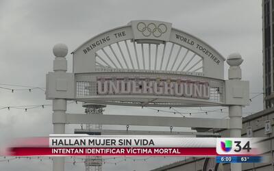 Investigan identidad de mujer hallada muerta en Underground