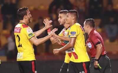 Herediano goleó 7-0 a Santos
