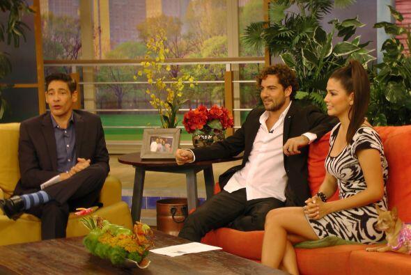 Durante la charla con Johnny Lozada y Ana Patricia, David Bisbal habló s...