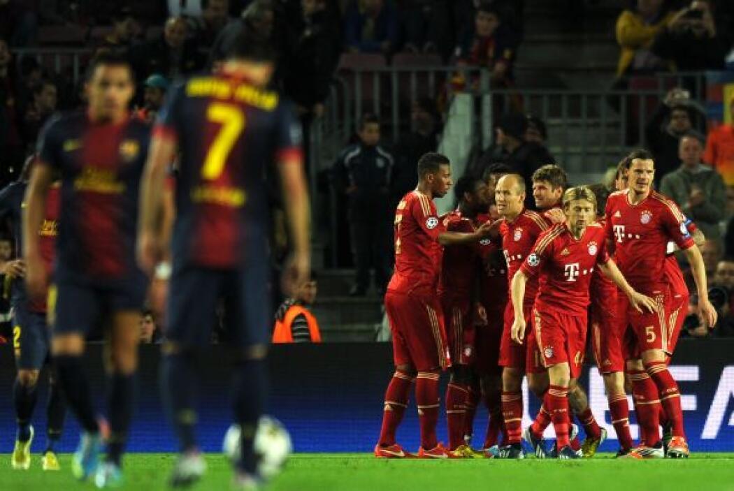No era para menos, este Bayern daba la impresión de acabar con una dinas...