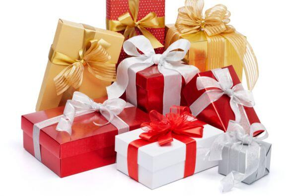 Las mismas cajas de los regalos que has recibido en otros intercambios o...