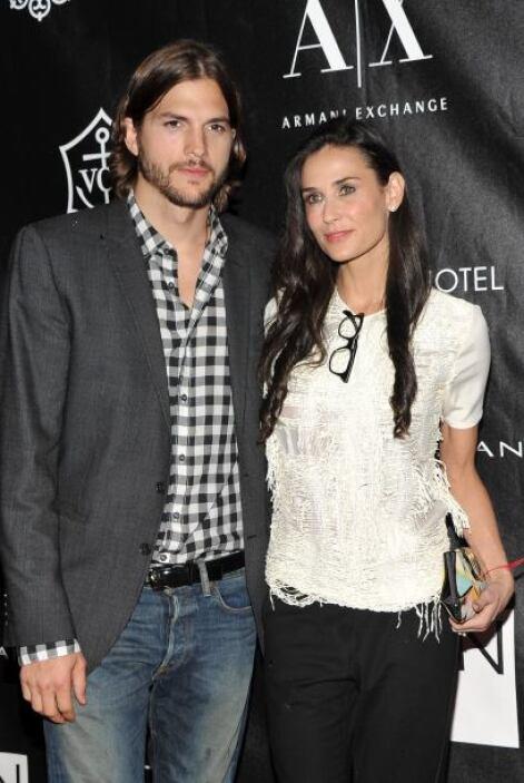 Todos recordamos el romance entre Demi Moore y Ashton Kutcher, que se ll...