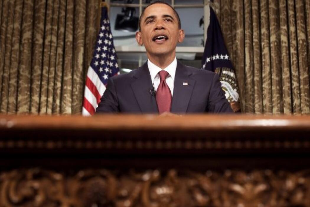 Sin bombos ni platillos, Obama anunció el 31 de agosto el fin de la guer...