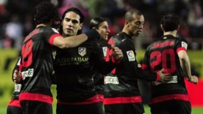 Falcao y Diego Costa sentenciaron la eliminatoria.