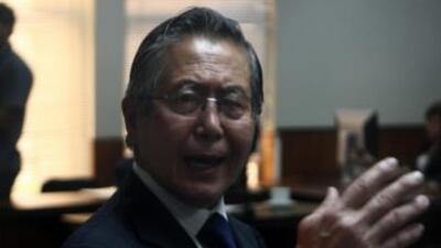 El ex presidente peruano Alberto Fujimori.