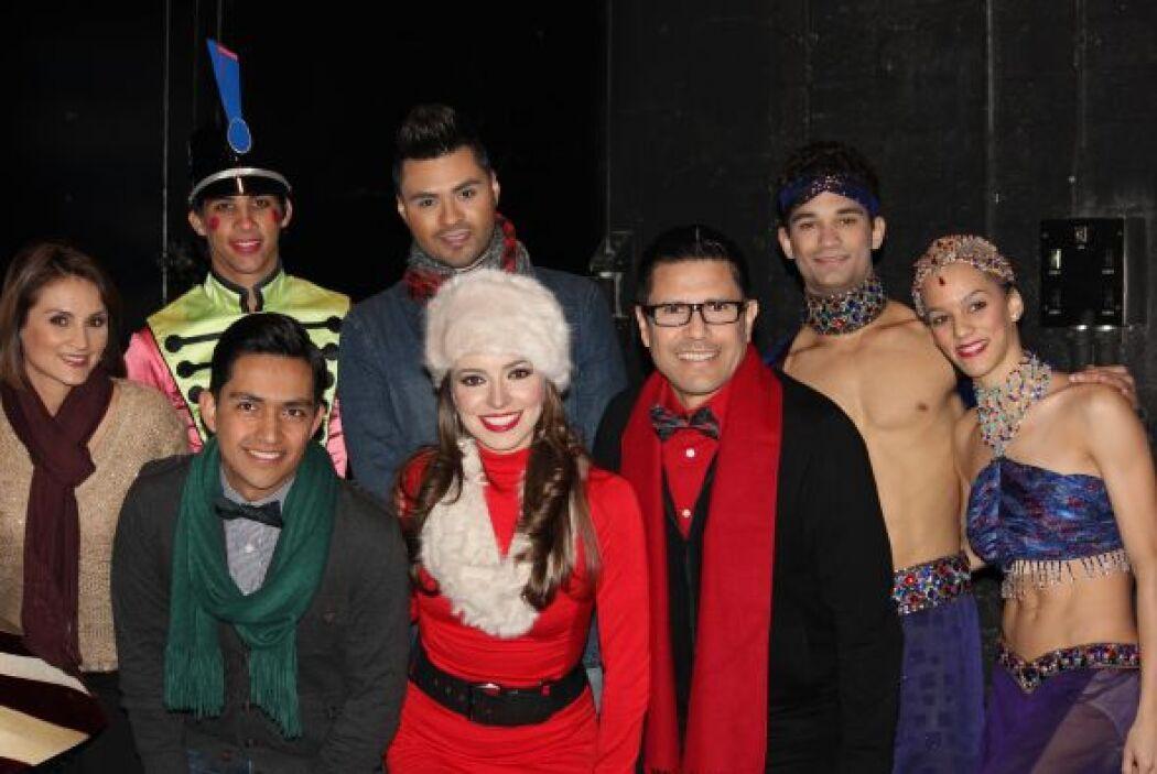La magia de la Navidad llegó a Noticias Univision Arizona.