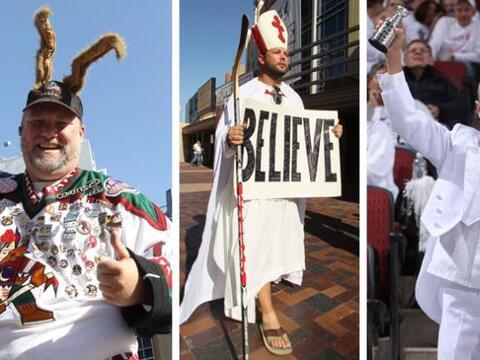Los Coyotes de Arizona estuvieron a un paso de ganar la final de la conf...