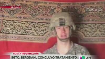 Sargento Bergdahl se reincorpora al ejército
