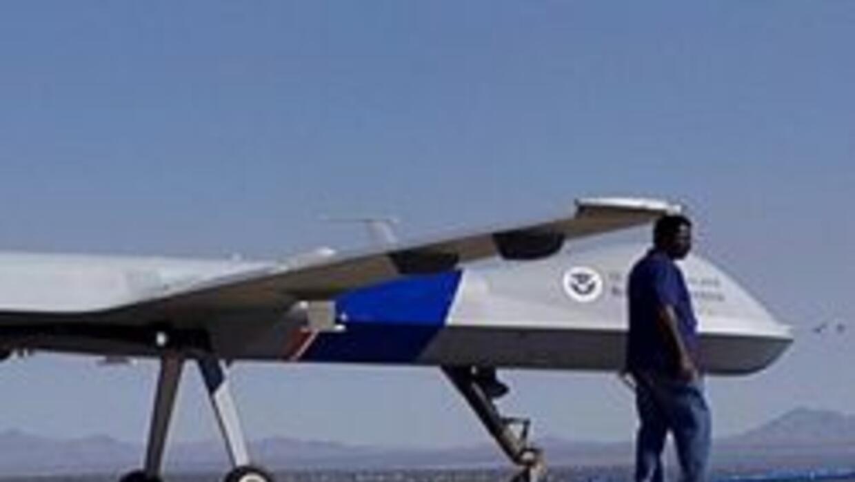 Avion no tripulado en el sur de Arizona