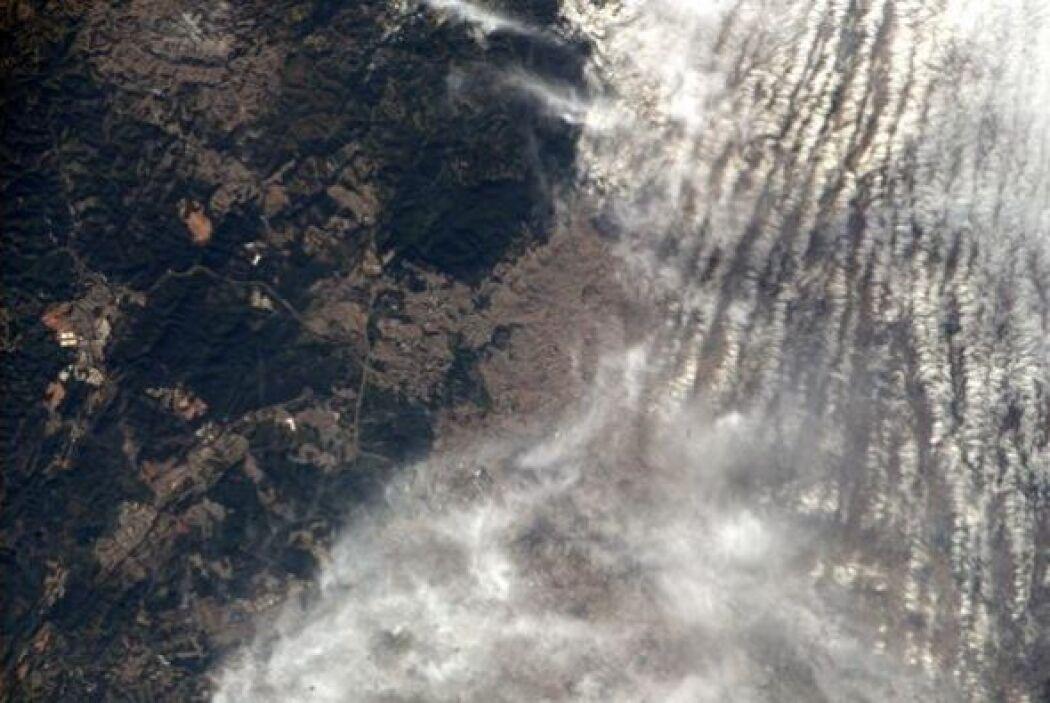 Cielo nublado en Sao Paulo. #worldcup Fotos: @astro_reid