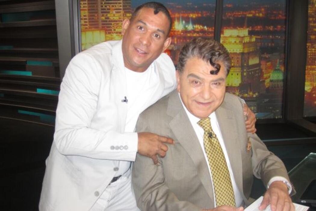 Este lunes Don Francisco tendrá un mano a mano con Hëctor 'Macho' Camacho.