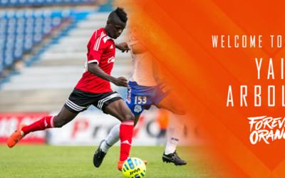 El volante ofensivo Yair Arboleda se suma al ataque del 'Orange Crush'.