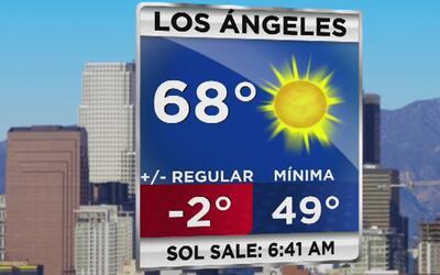 Tiempo: Alerta de frio intenso en el área de Los Ángeles este miércoles