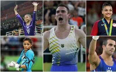 Hispanos se lucen en la gimnasia en Río 2016