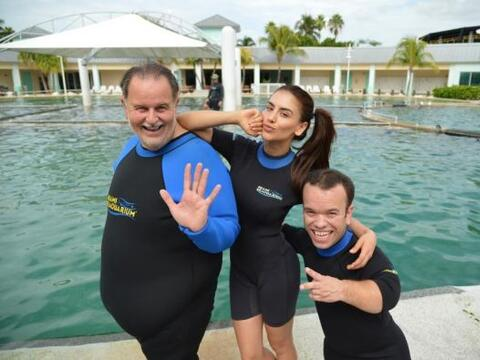 Raúl de Molina se fue acompañado de Jessica Cediel y Carli...