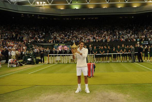 Federer volvió a mostrar que es uno de los mejores tenistas de la...