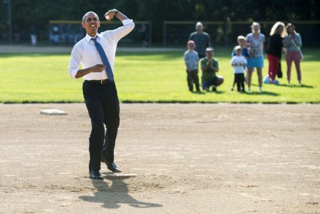 Pero fue evidente que lo suyo no es el beisbol.