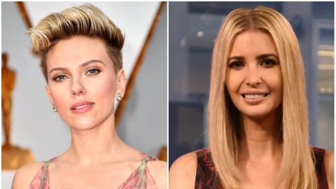 Scarlett Johansson emita a Ivanka Trump