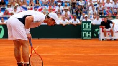 Murray tiene problemas en un nervio en la parte baja de la espalda.