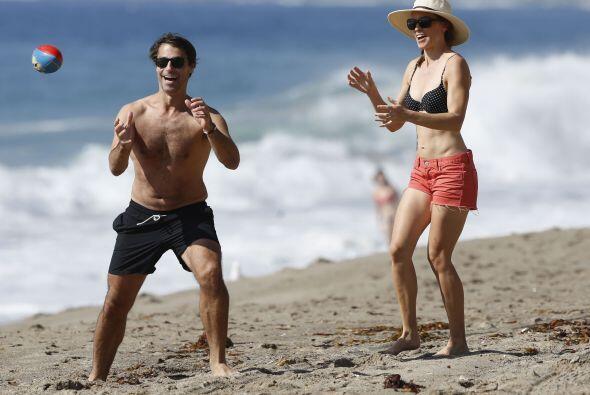 En esta ocasión no perdió la oportunidad de hacerlo en las playas de Mai...