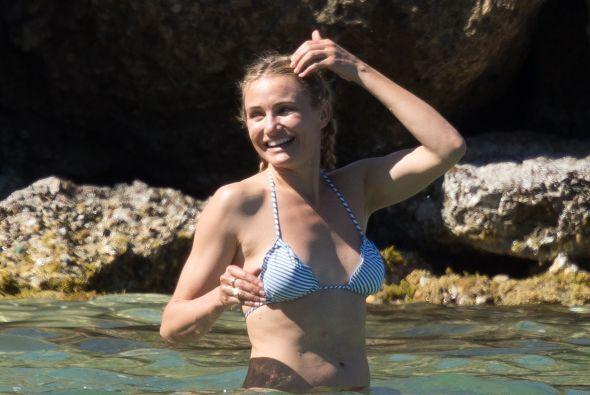 Aunque las olas hagan con ella lo que quieran. Más videos de Chismes aquí.