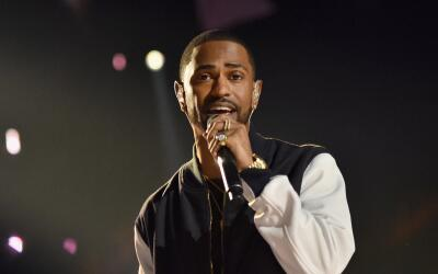 INGLEWOOD, CA - APRIL 07: Rapper Big Sean performs onstage at WE Day Cal...