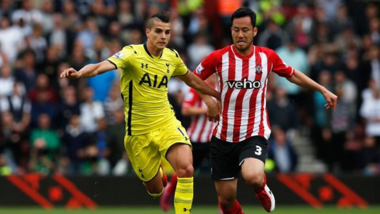 Tottenham rescató un punto en casa del Southampton.