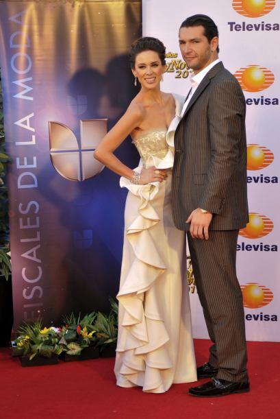 """Días después los vimos juntos en los """"Premios TVyNovelas 2011""""."""