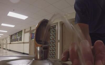 Estudios revelan que el agua que beben en algunas escuelas de Dallas tie...