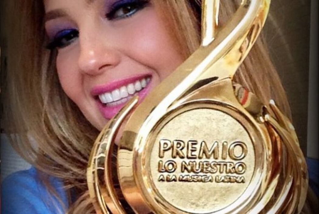 Thalía ha participado en varias ceremonias de Premio Lo Nuestro. En 2014...