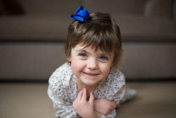 Isobel Green tiene tan sólo 4 años de edad.