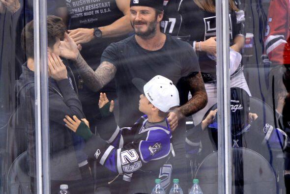 Los Beckham disfrutan estar juntos, además de que David es un exc...