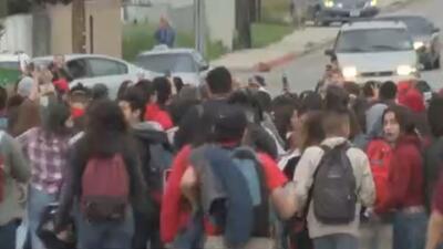'Los Ángeles en un Minuto': seis maestros de la Rubidoux High School, en...