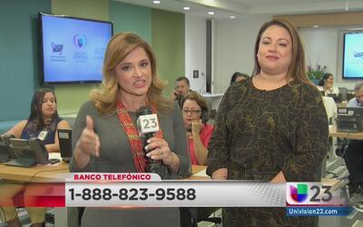 Banco telefónico ayuda a la comunidad en este Día Nacional para el Regis...
