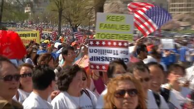 Los Ángeles marchará presionando por una reforma migratoria