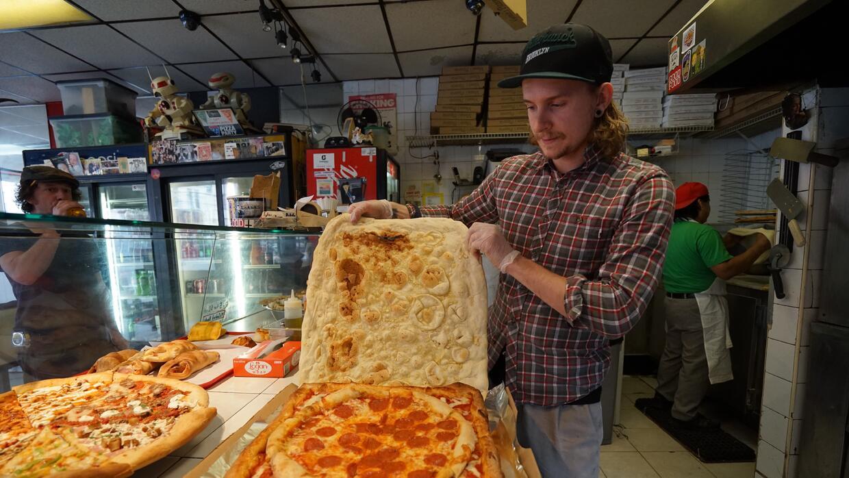 Los residentes de Brooklyn están locos por la PizzaBoxPizza
